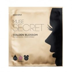 Moonshot Muse Secret Golden Blossom Mask Sheet 3 korean cosmetic skincare product online shop malaysia usa macau