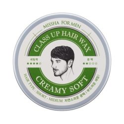 Missha For Men Class Up Hair Wax [Creamy Soft] korean cosmetic skincare shop malaysia singapore indonesia