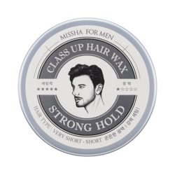 Missha For Men Class Up Hair Wax [Strong Hold] 90g korean cosmetic skincare shop malaysia singapore indonesia