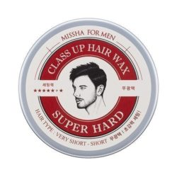 Missha For Men Class Up Hair Wax [Super Hard] 90g korean cosmetic skincare shop malaysia singapore indonesia