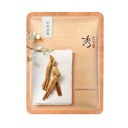 Sooryehan Ginseng Collagen Mask x 5pcs 140g korean cosmetic skincare shop malaysia singapore indonesia