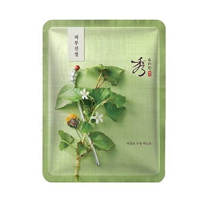 Sooryehan Houttuynia Cordata Soothing Mask x 5pcs 140g korean cosmetic skincare shop malaysia singapore indonesia