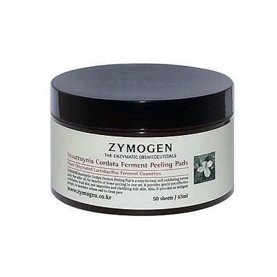Zymogen Houttuynia Cordata Ferment Extract Peeling Pads 50 Sheets korean cosmetic skincar product online shop malaysia brazil macau