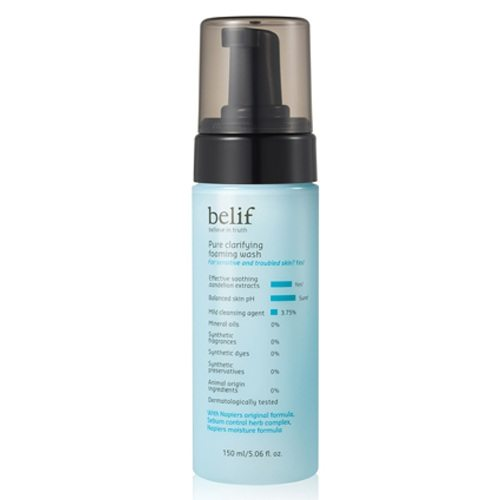 Belif Pure Clarifying Foaming Wash korean cosmetic cleanser product online shop malaysia china vietnam