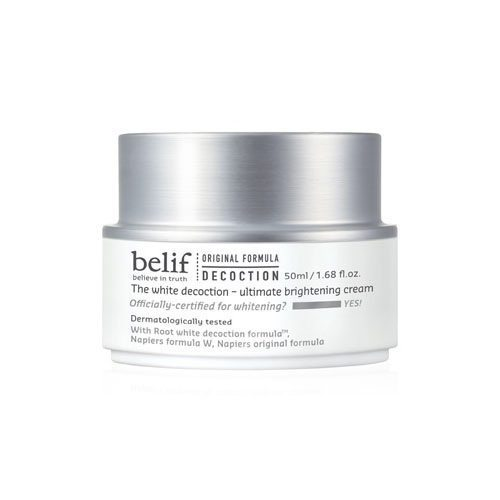 Belif The White Decoction Ultimate Brightening Cream korean cosmetic skincare product online shop malaysia japan taiwan