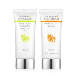 Benton Papaya-D Sun Cream 50ml + Papaya-S Sun Cream 50ml SET 100g korean cosmetic skincare shop malaysia singapore indonesia
