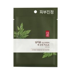 ILLIYOON Mugwort Calming Mask 27g korean cosmetic skincare shop malaysia singapore indonesia