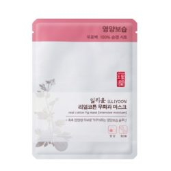 ILLIYOON Real cotton Fig Mask 27g korean cosmetic skincare shop malaysia singapore indonesia