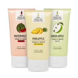 Etude House Fresh Squeeze Juice Cleansing Foam 150ml korean cosmetic skincare shop malaysia singapore indonesia