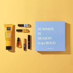 ARITAUM Fashion X Style Lookbook Box GOLD LOOK korean cosmetic product online shop malaysia usa macau