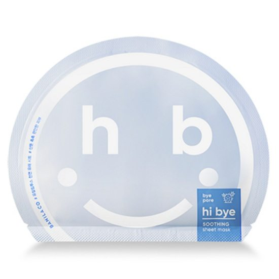 Banila Co Hi Bye Soothing Sheet Mask korean cosmetic skincare product online shop malaysia macau singapore