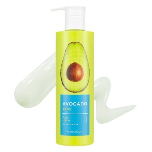 Holika Holika Avocado Body Lotion 390ml korean cosmetic skincare shop malaysia singapore indonesia