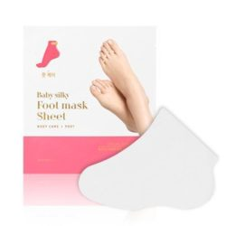 Holika Holika Baby Silky Foot Mask Sheet 18ml korean cosmetic skincare shop malaysia singapore indonesia