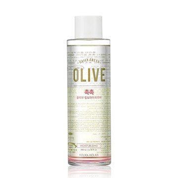 Holika Holika Daily Fresh Cleansing Olive Lip And Eye Remover 200ml korean cosmetic skincare shop malaysia singapore indonesia