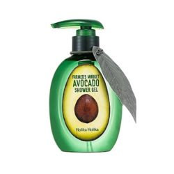 Holika Holika Farmer's Market Avocado Shower Gel 240ml korean cosmetic skincare shop malaysia singapore indonesia