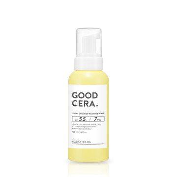 Holika Holika Good Cera Super Ceramide Foaming Wash 160ml korean cosmetic skincare shop malaysia singapore indonesia