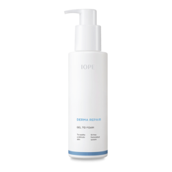 IOPE Derma Repair Gel To Foam 200ml korean cosmetic skincare shop malaysia singapore indonesia