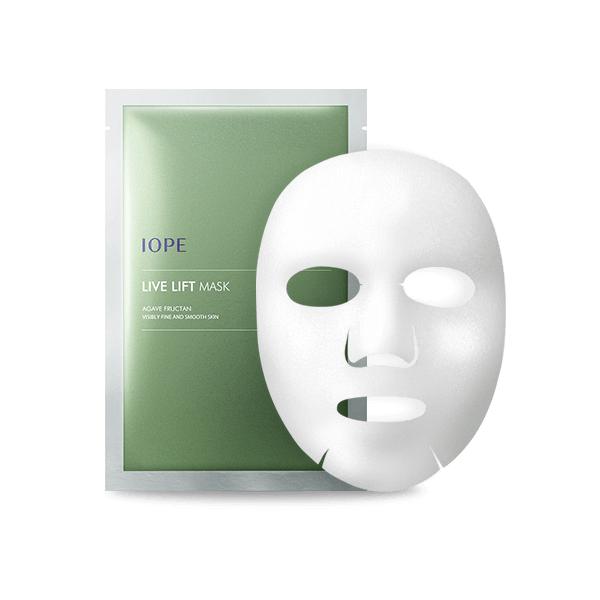 IOPE Live Lift Mask x 1ea 20ml korean cosmetic skincare shop malaysia singapore indonesia