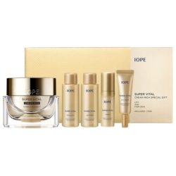 IOPE Super Vital Cream Rich Set 98ml korean cosmetic skincare shop malaysia singapore brunei