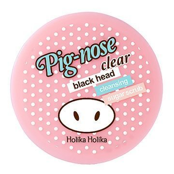 Holika Holika Pig Nose Clear Black Head Cleansing Sugar Scrub 300ml korean cosmetic skincare shop malaysia singapore indonesia