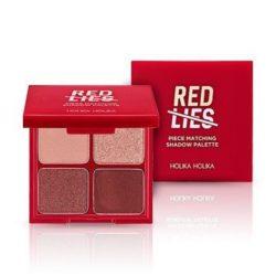 Holika Holika Red Lies Piece Matching Shadow 6g korean cosmetic skincare shop malaysia singapore indonesia