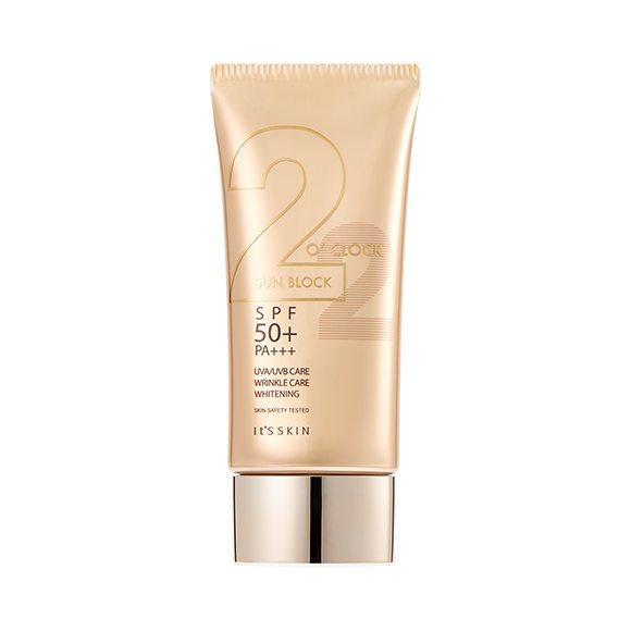 It's Skin 2 O'clock Sun Block 50ml korean cosmetic skincare shop malaysia singapore indonesia