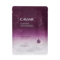 It's Skin Caviar Double Effect Mask Sheet 22ml korean cosmetic skincare shop malaysia singapore indonesia