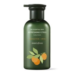 Innisfree My Essential Body Refreshing Citrus Body Lotion korean cosmetic skincare product online shop malaysia usa mexico