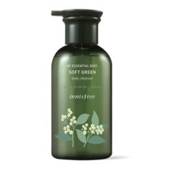 Innisfree My Essential Body Soft Green Creamy Body Cleanser korean cosmetic skincare product online shop malaysia usa mexico