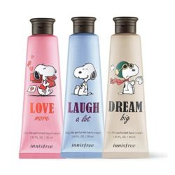 Innisfree Snoopy Jeju Life Perfumed Hand Cream korean cosmetic skincare product online shop malaysia usa mexico