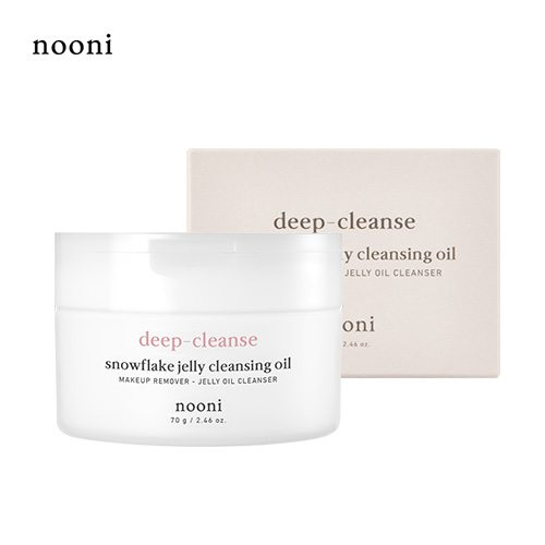 MEMEBOX Nooni Deep Cleanse Snowflake Jelly Cleansing Oil 70g korean cosmetic skincare shop malaysia singapore indonesia