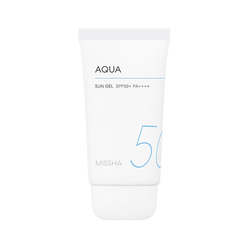 Missha Aqua Sun Gel SPF50+PA+++ korean cosmetic suncare product online shop malaysia usa uk