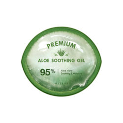 Missha Premium Aloe Soothing Gel 95% 300ml korean cosmetic skincare shop malaysia singapore indonesia