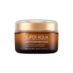 Missha Super Aqua Ultra Deep Nourishing Cream 80ml korean cosmetic skincare shop malaysia singapore indonesia