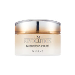 Missha Time Revolution Nutritious Cream 50ml korean cosmetic skincare shop malaysia singapore indonesia