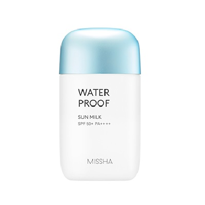 Missha Water Proof Sun Milk SPF50+PA+++ korean cosmetic suncarw product online shop malaysia usa uk