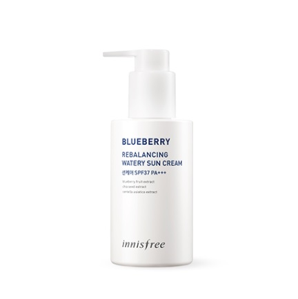 Innisfree Blueberry Rebalancing Watery Sun Cream [Larger Capacity] korean cosmetic skincare product online shop malaysia china usa