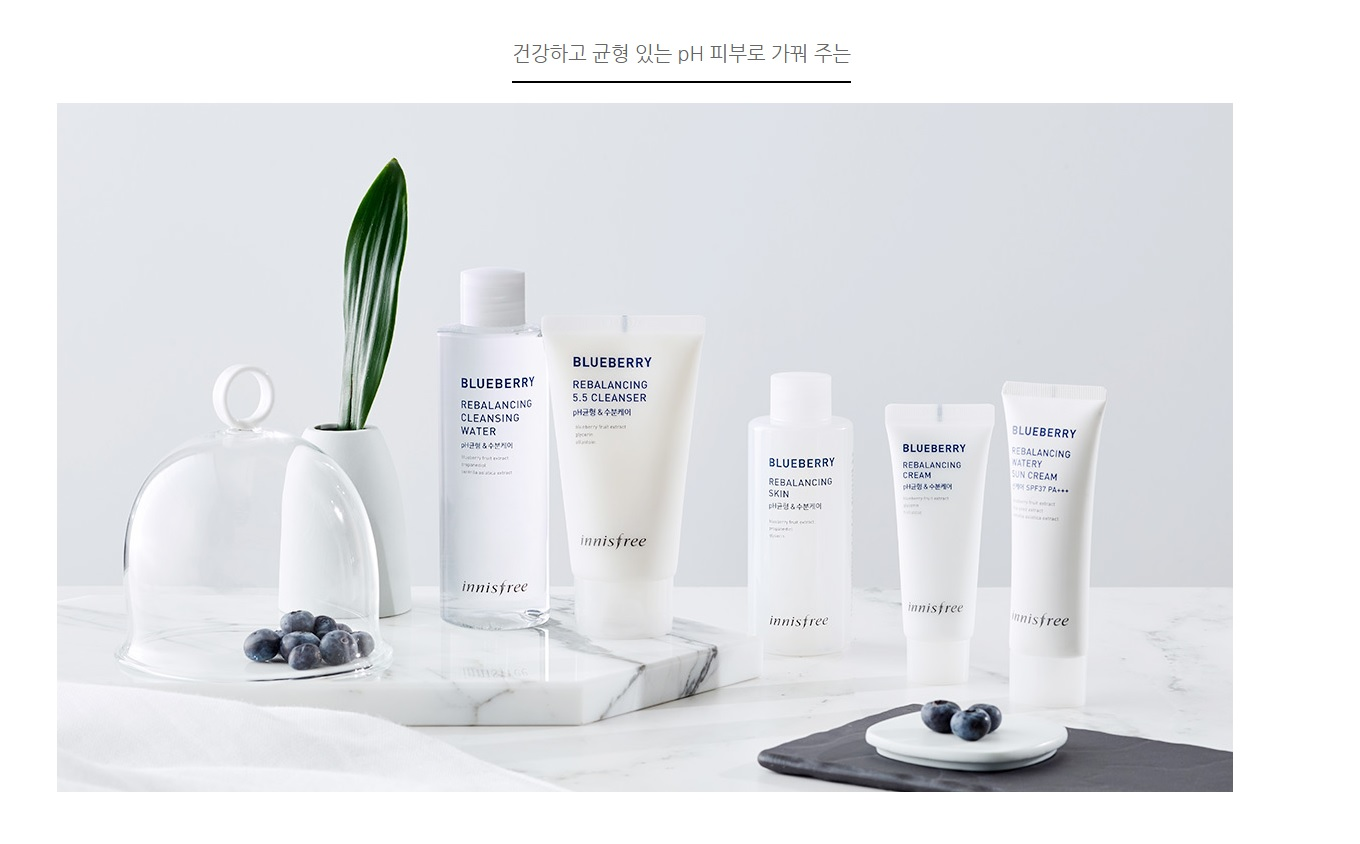 Innisfree Blueberry Rebalancing Watery Sun Cream [Larger Capacity] korean cosmetic skincare product online shop malaysia china usa2