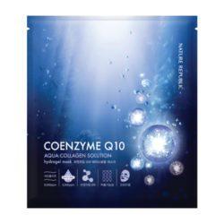 Nature Republic Aqua Collagen Solution Coenzyme Q10 Hydrogel Mask 25g korean cosmetic skincare shop malaysia singapore indonesia