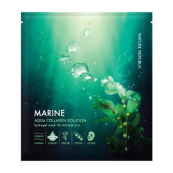Nature Republic Aqua Collagen Solution Marine Hydrogel Mask 25g korean cosmetic skincare shop malaysia singapore indonesia