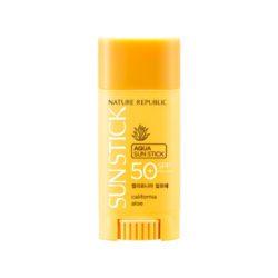 Nature Republic California Aloe Aqua Sun Stick 15g korean cosmetic skincare shop malaysia singapore indonesia