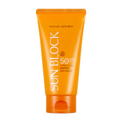 Nature Republic California Aloe Perfect Sun Block 150ml korean cosmetic skincare shop malaysia singapore indonesia