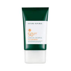 Nature Republic Green Derma Mild Sun Block 50ml korean cosmetic skincare shop malaysia singapore indonesia