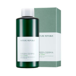 Nature Republic Green Derma Mild Toner 200ml korean cosmetic skincare shop malaysia singapore indonesia