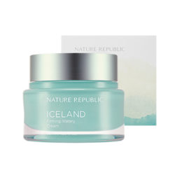 Nature Republic Iceland Firming Watery Cream 50ml korean cosmetic skincare shop malaysia singapore indonesia