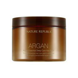 Nature Republic Argan Essential Deep Care Hair Pack 470ml korean cosmetic skincare shop malaysia singapore indonesia