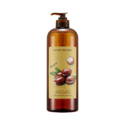 Nature Republic Argan Essential Deep Care Shampoo [Large Capacity] 1000ml korean cosmetic skincare shop malaysia singapore indonesia