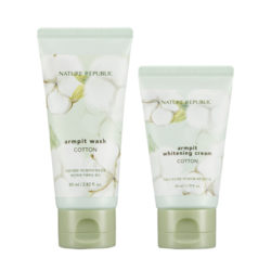 Nature Republic Cotton Armpit Kit 130ml korean cosmetic skincare shop malaysia singapore indonesia