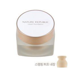 Nature Republic Ginseng Royal Silk Cream Foundation 30ml korean cosmetic skincare shop malaysia singapore indonesia