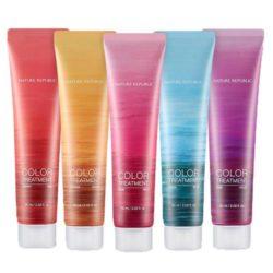 Nature Republic Hair And Nature Color Treatment 60ml korean cosmetic skincare shop malaysia singapore indonesia
